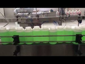 automatic filling bleach machine
