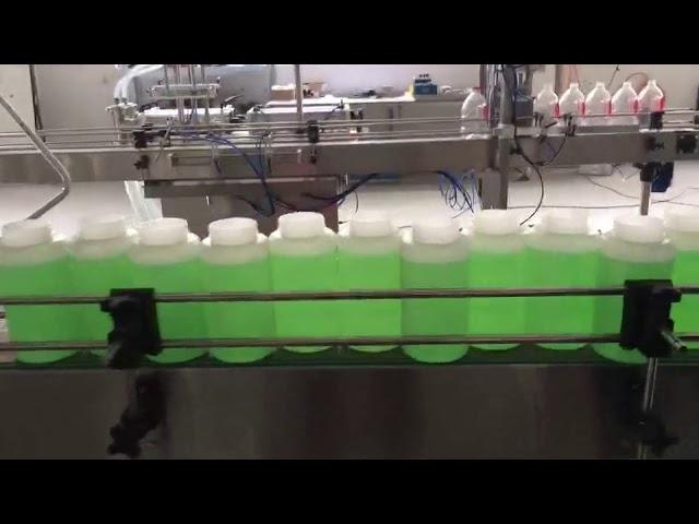 automatic filling bleach machine