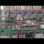 automatic cooking oil, honey, jam, shampoo liquid filling capping machine
