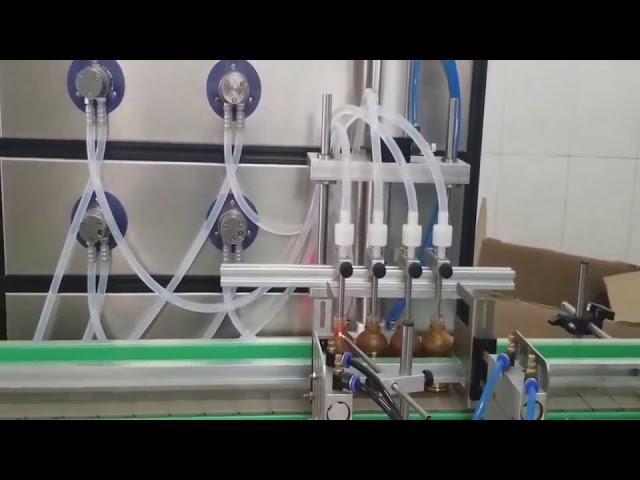 auto 10ml 30ml 60ml 100ml bottle cosmetic filling machine for liquids