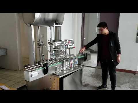 cosmetic filling machine, automatic piston paste liquid soap filling machine