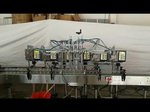 small automatic gear pump bottle soap liquid filling machine price