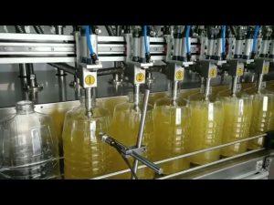 automatic peristaltic pump lube oil filling machine