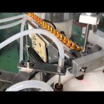 automatic 5-30ml glass dropper small bottle eye drop vial e liquid filling capping machine