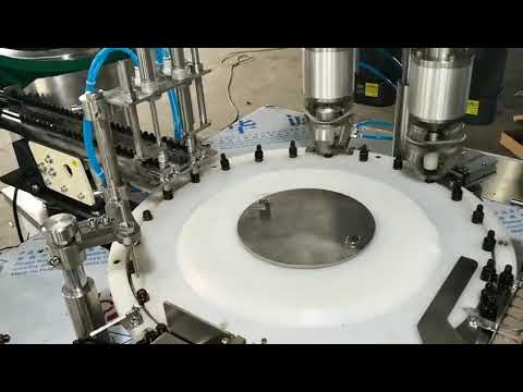 full automatic small volume essential oil filling capping machine