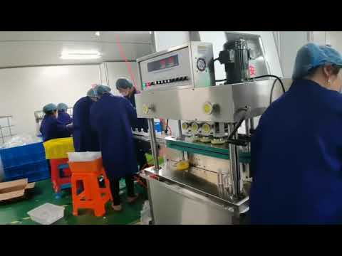 rotary filling and capping machine