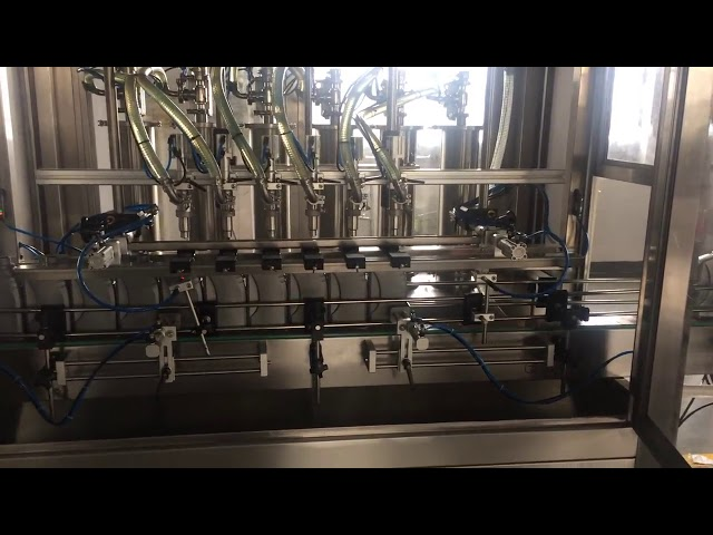 high precision 5l motor oil lubricate bottle filler filling machine