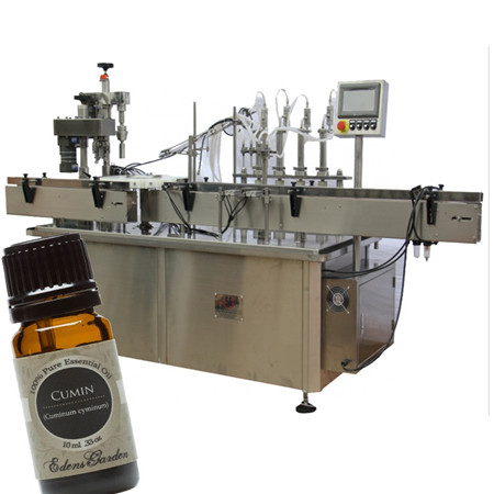 automatic syrup bottling machine