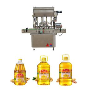 automatic rotary oil filling machine