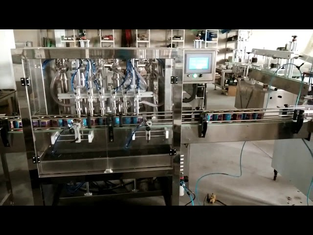 automatic peanut butter filling machine