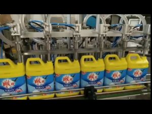 automatic 8 heads laundry detergent shampoo bottle filling machine