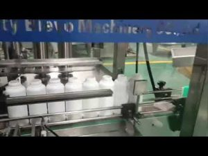 laundry detergent bottle filling machine, washing detergent liquid production line