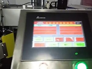 automatic computerized label printing machine roll sticker plastic bag label machine