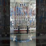 volumetric liquid edible oil pet bottle filling machine
