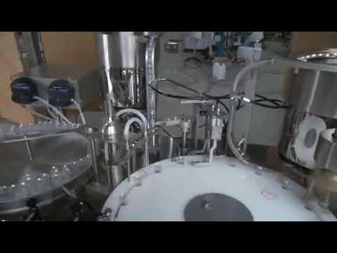 automatic star wheel e cigarette filling machine