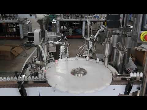 automatic eye drop filling machine, small bottle filling and sealing machine