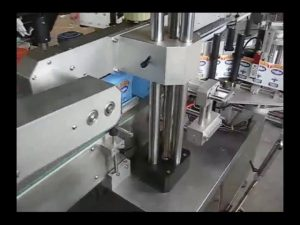 automatic double sides bottle sticker labeling machine for round bottle