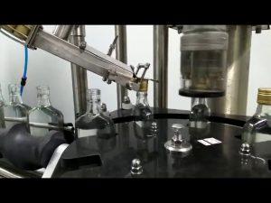 wine bottle screw capping machine