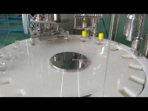 ketchup filling and capping machine