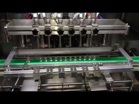 automatic alcohol sanitizer gel filling machine for daily chemical industry