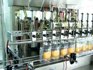 automatic 5 litre piston oil bottle filling machine