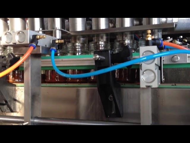 automatic chocolate peanut butter tomato sauce filling machine