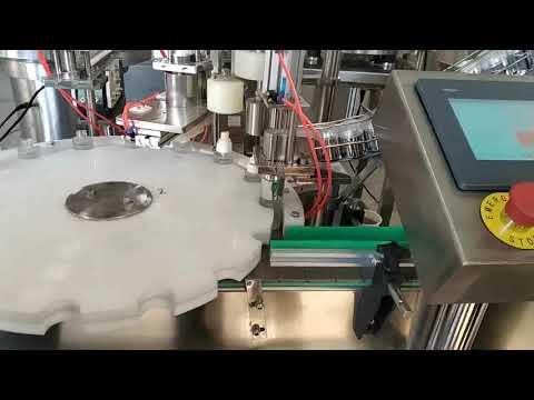 china wholesale acid bottle liquid filling machine