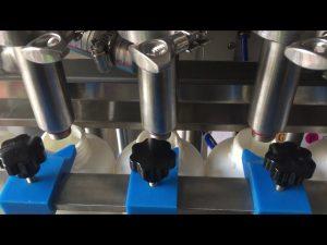 full automatic piston shampoo liquid bottle filling machine price