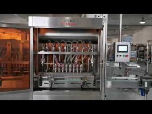 full automatic tomato sauce servo filling machine