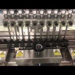 liquid alcoholic cream linear filling machine, honey jar small bottle oil filler