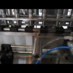 automatic liquid detergent and disinfectant fluid filling machine