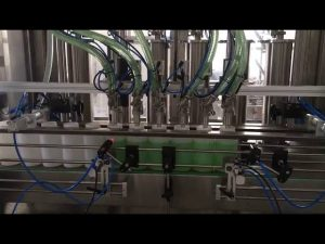 piston liquid soap bottle filling machine
