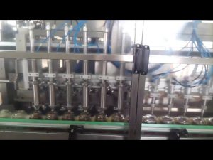 automatic glass honey jar yogurt filling sealing machine