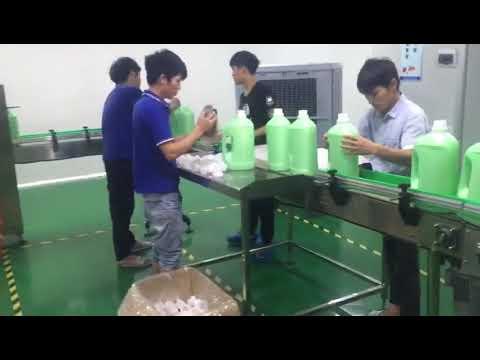 washing liquid shampoo filling machine price