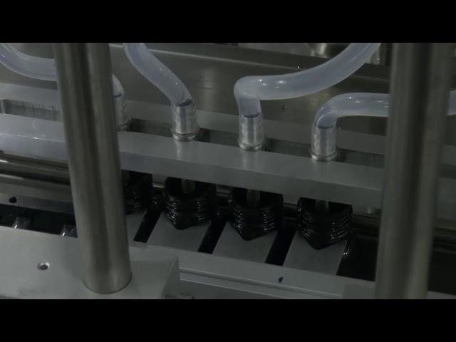 10ml-5l 6 head automatic desktop accurate liquid filling machine