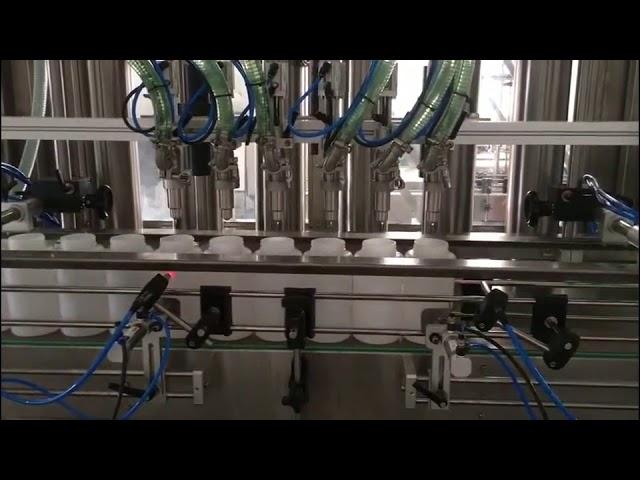 automatic hand sanitizer filling machine