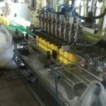 automatic piston diving nozzles shampoo filling machine