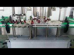 fully automatic aluminum lid cap capping machine