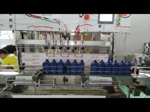 china automatic 5000ml lube motor oil filling machine for car industry