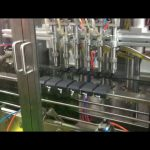 plc control automatic piston olive oil filling filler machine