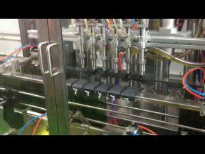 plc control automatic piston olive oil filling filler machine