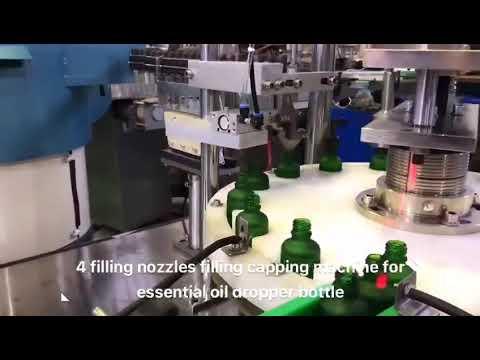 dropper bottle essential oil cbd oil filling machine