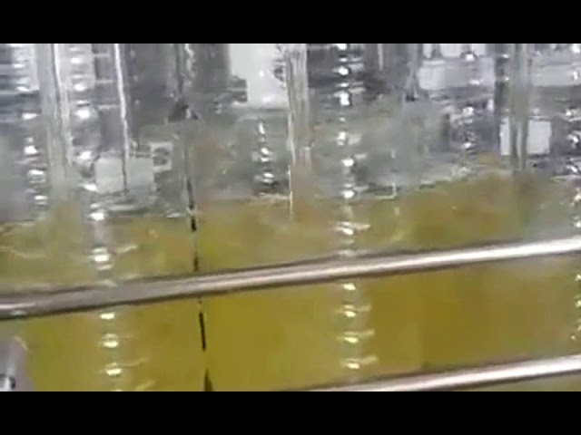 automatic bottle filling edible oil packing machine