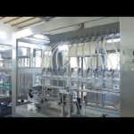 factory automatic linear viscous liquid edible oil bottle jar filling machine