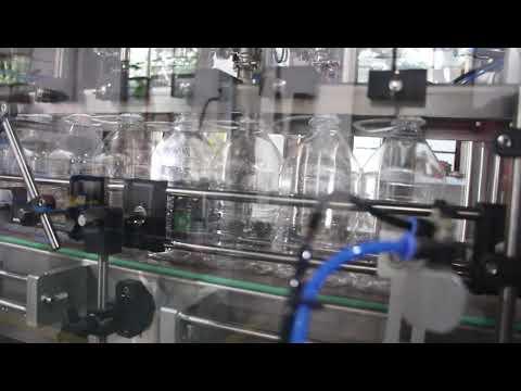 automatic hand sanitizer gel liquid filling machine
